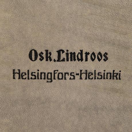 A 89 piece set of 'helsinki' silver cutlery in wooden case, mark of oskar lindroos, helsinki 1917 1925