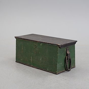 A late 19th century coffer.