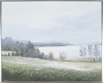 ARNOLD LINDBLOM, oil on canvas, signed.