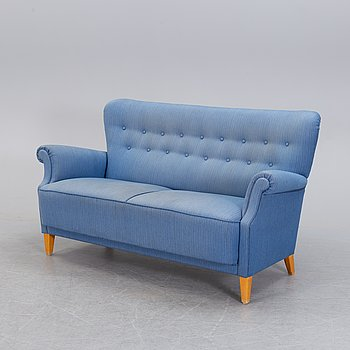 A mid 20th century sofa by Dux.