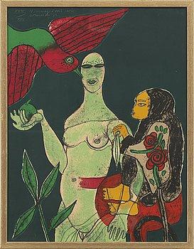 BEVERLOO CORNEILLE, färgserigrafi, signerad och numrerad XXIV / XXV.