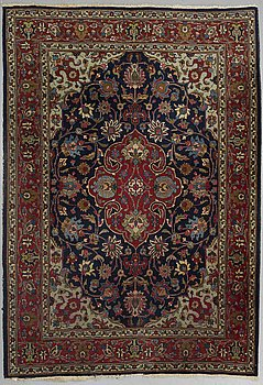 A CARPET, Old Tabriz, possibly, around 285 x 220 cm.
