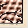"""Roy lichtenstein, """"sweet dreams baby!""""."""