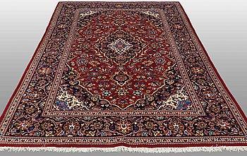 A carpet, Kashan, around ca 307 x 200.