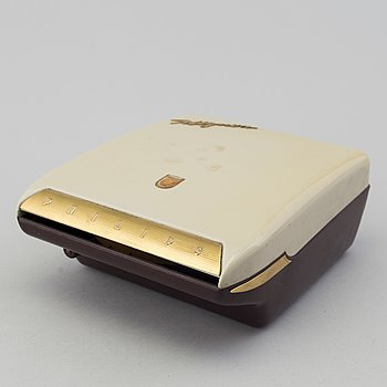 A 'Mignon' record player from Philips, designed 1957.