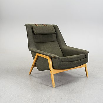 "An easy chair ""Profil"" by Folke Ohlsson, Dux Ljungs Industrier, 1960's."