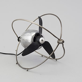 A 'VE505' table fan by Ezio Pirali, Zerowatt, designed 1953.
