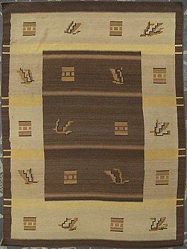 MATTA, funkis, Finland 1930-tal. Cirka 342x251 cm.