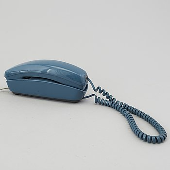 A 'Trimline' telephone by Henry Dreyfuss, Western Electric, USA. 1960's.