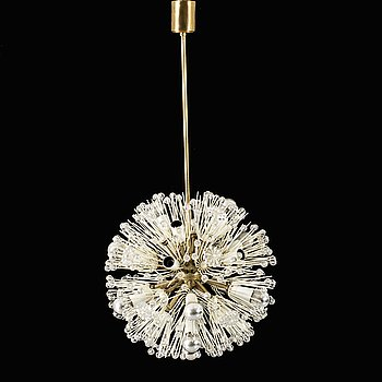 """EMIL STEJNAR, """"Snowball / Sputnik Pusteblume"""", for Rupert Nikoll Wien mid 20th century."""