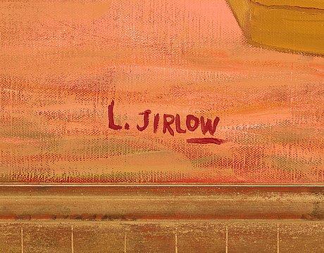 """Lennart jirlow, """"utanför bykrogen"""""""