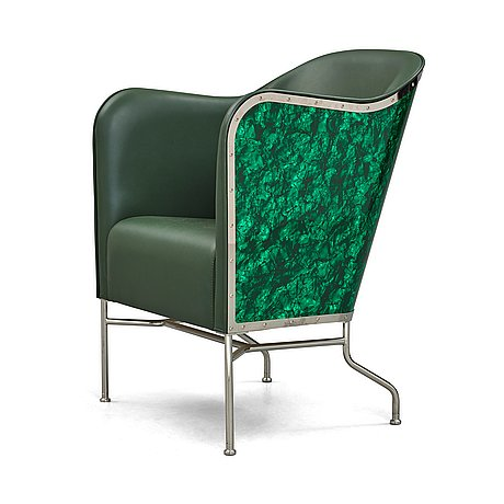 """Mats theselius, a """"star"""" easy chair for källemo sweden, 2009."""