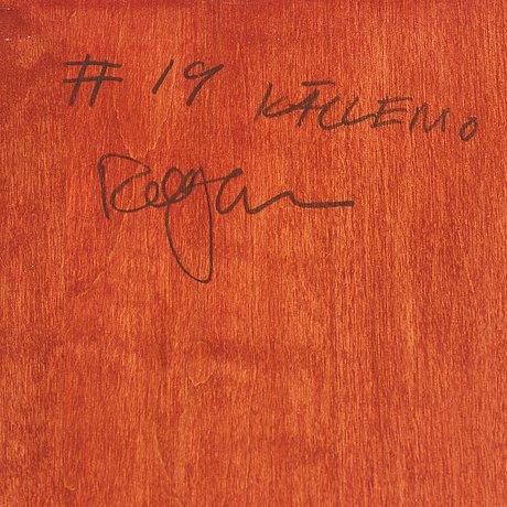 """Rolf hanson, a """"pelare"""" (pillar) cabinet for källemo, värnamo, sweden post 1991."""