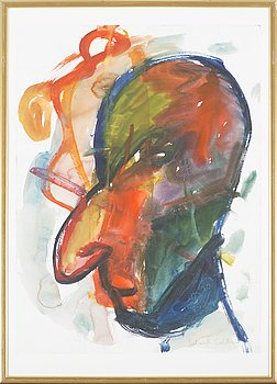 ERLAND CULLBERG, water color, signed.