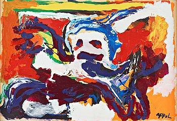 415. Karel Appel, Untitled.