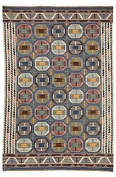 "208. Märta Måås-Fjetterström, A CARPET, ""Dukater"", flat weave, ca 347,5 x 235 cm, signed AB MMF."