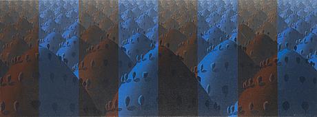 """Kristian krokfors""""abstractlandscapeii""""."""