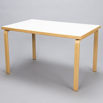 ALVAR AALTO, Table, model '81B', for Artek, late 20th Century.