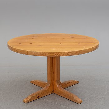 A second half of the 20th century pine dining table.