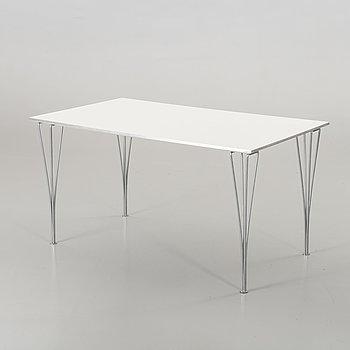 A BRUNO MATHSSON TABLE BY FRITZ HANSEN.
