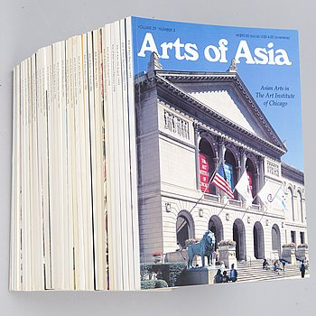 "TIDNINGAR, 33 st, ""Arts of Asia"", New York 1991-1999."
