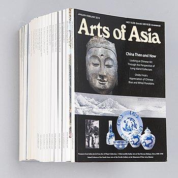 "TIDNINGAR, 25 st, ""Arts of Asia"", New York 2000-2015."