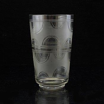 VAS, glas, Kosta, 1900-talets första hälft.