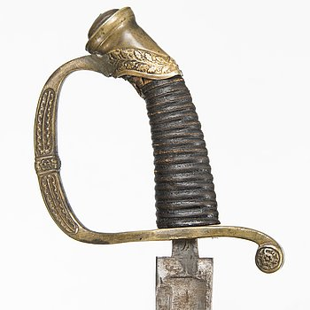 An Imperial Russian model 1841-65 infantry officer's sabre.