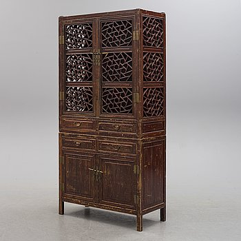 A CUPBOARD, probably China, 20th century.