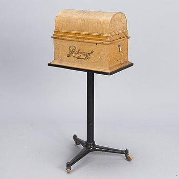 An early 20th Century 'Parlograph' dictating machine with stand by Brevete.