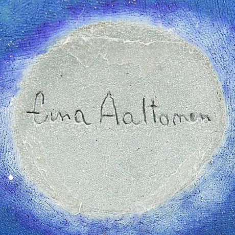 Erna aaltonen, a unique ceramic sculpture, signed erna aaltonen. 1999.