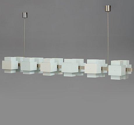 "Hans-agne jakobsson, a ""selectra 769/12"", ceiling lamp, markaryd ab, sweden 1960-70's."