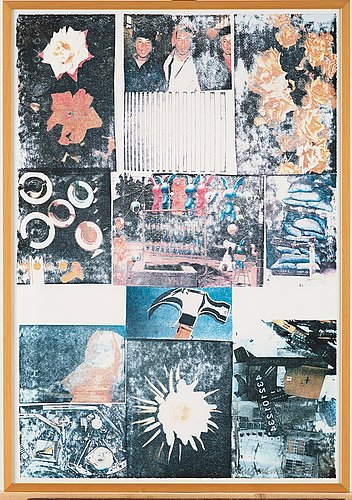 """Robert rauschenberg, """"charms against harms""""."""