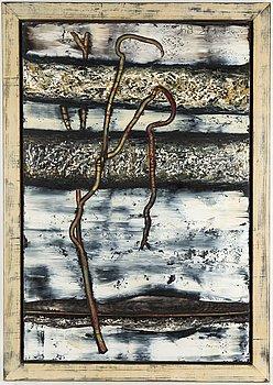 MICHAEL KESSLER, olja på pannå, monogramsignerad och daterad 89.