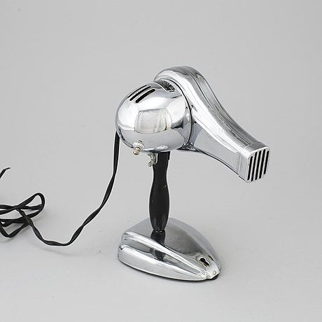 An 'eskimo' hair dryer from bersted mfg co, canada, mid 20th century.