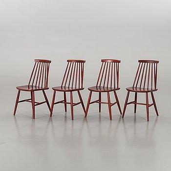 """PINNSTOLAR, 4 st, """"Tellus"""", IKEA, 1960-70-tal."""