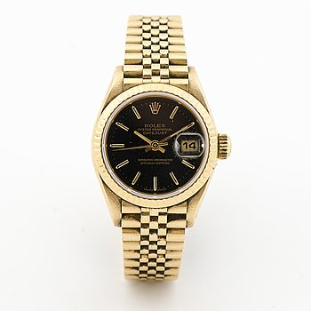 ROLEX, Oyster Perpetual Datejust, , wristwatch, 26 mm.