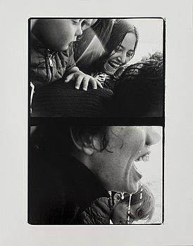 WALTER HIRSCH, gelatinsilverfotografi, signerat och daterat midsommar 66 atergo.