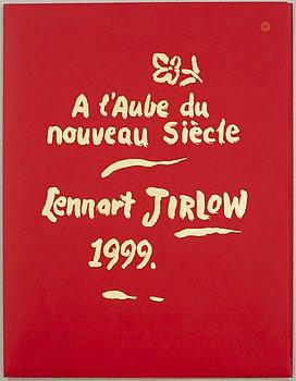 LENNART JIRLOW, mapp med 5 st färglitografier, signerade och numrerade 71/275.