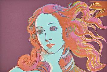 "318. Andy Warhol, ""Sandro Botticelli, Birth of Venus""."