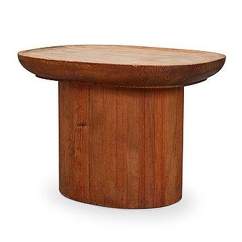 "309. Axel Einar Hjorth, a stained pine ""Utö"" table, Nordiska Kompaniet 1930's."