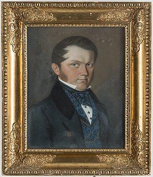 OKÄND KONSTNÄR, pastell, osignerad, 1835.