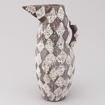 KATI TUOMINEN-NIITTYLÄ, A ceramic jug, signed KTN.
