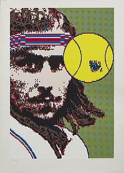 STURE JOHANNESSON  OCH CHARLOTTE JOHANNESSON, färgserigrafi, signerad 1984, numrerad 132/200.