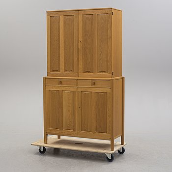 CARL MALMSTEN, a 'Calmar Slott' oak cabinet from Åfors Möbelfabrik.