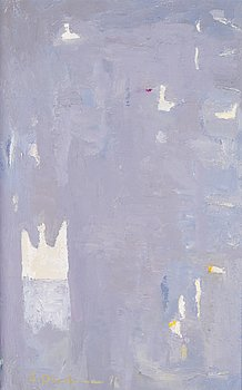 SIRKKU DURCHMAN, oil on canvas, signed and dated -96.