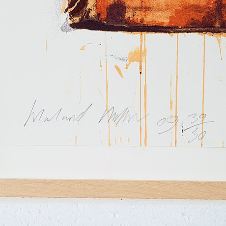 """Harland miller, """"don't let the bastards cheer you up""""."""