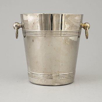CHAMPAGNEKYLARE, försilvrad metall, 1900-tal.