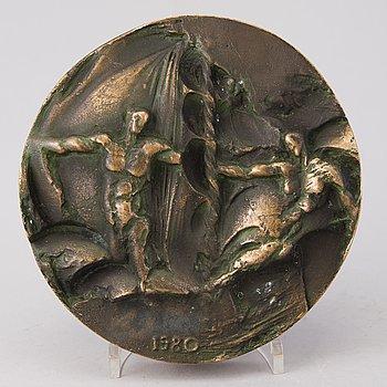 BORDSMEDALJ, brons, Sovjetunionen, Olympiska spelen 1980.