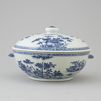 TERRIN, porslin, Qing dynastin, Qianlong (1736-95).